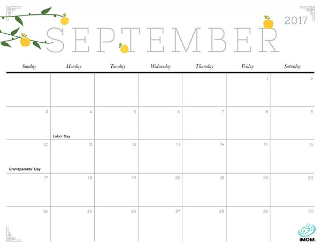 Imom Printable Calendar