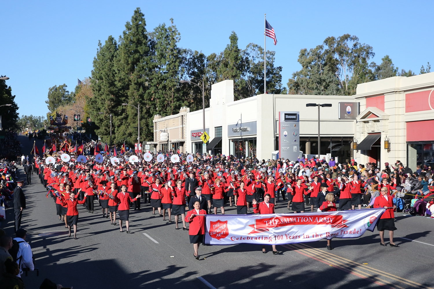 2019 Rose Parade Unites Salvation Army Musicians From Every