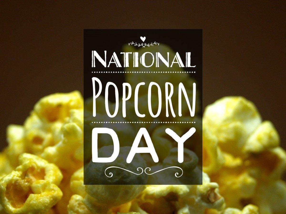 National Popcorn Day 2019
