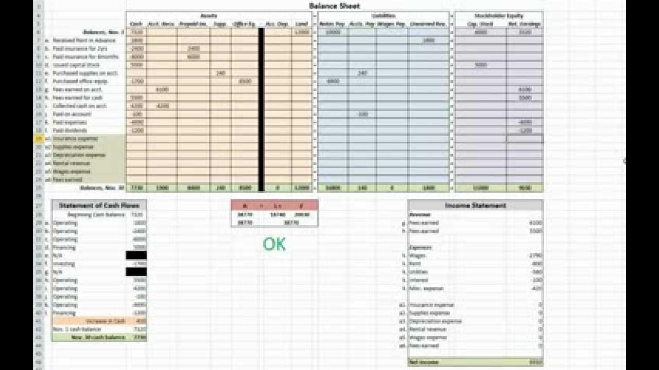 Accrual Spreadsheet Template