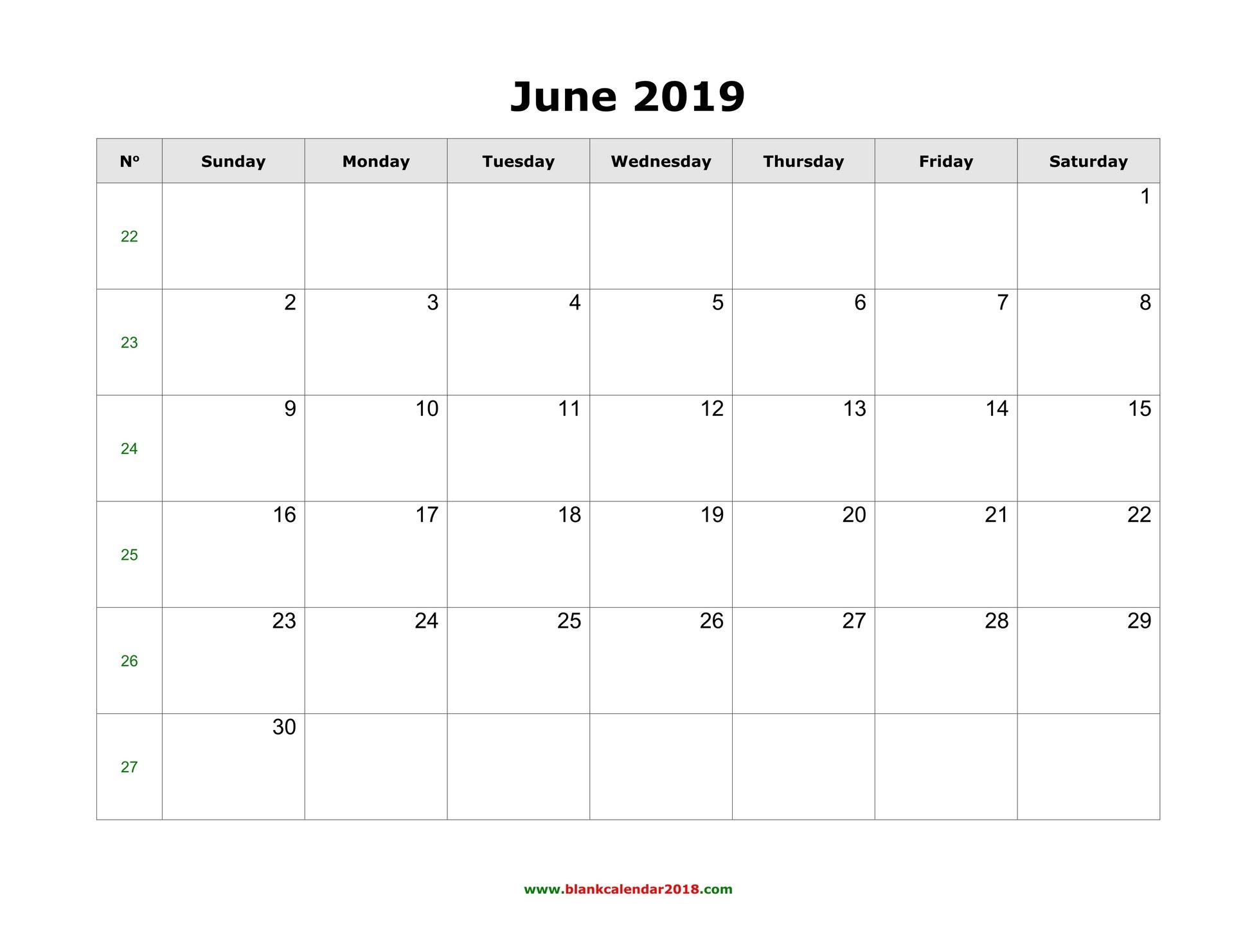 Printable Calendar Template July 2019 As Pdf And Jpg