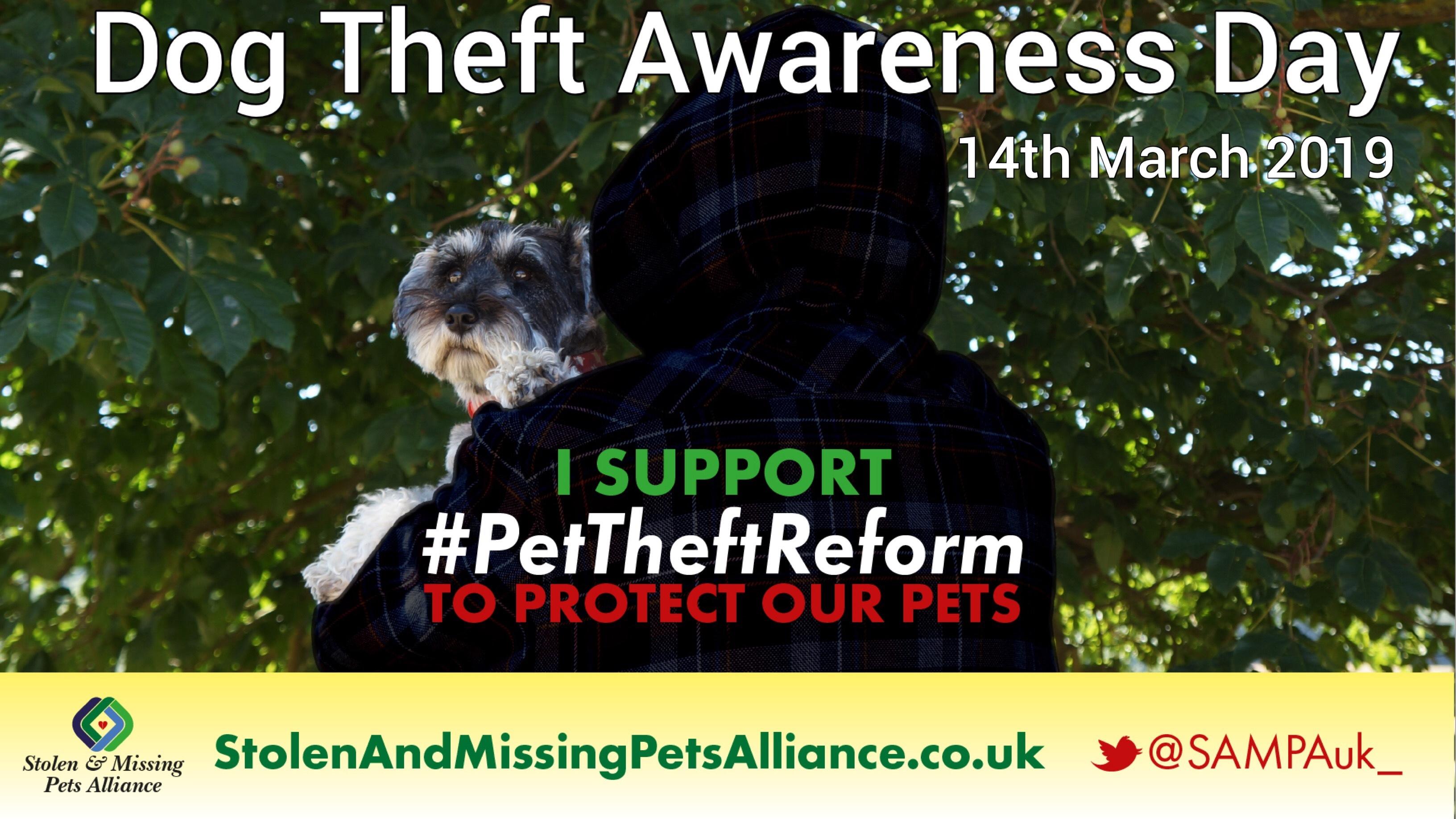 Pet Theft Awareness Day 2019