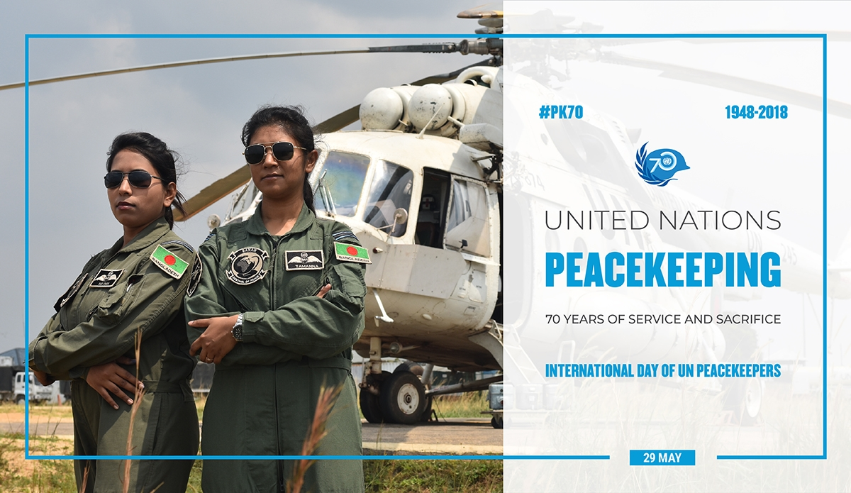 International Day Of United Nations Peacekeepers 2019