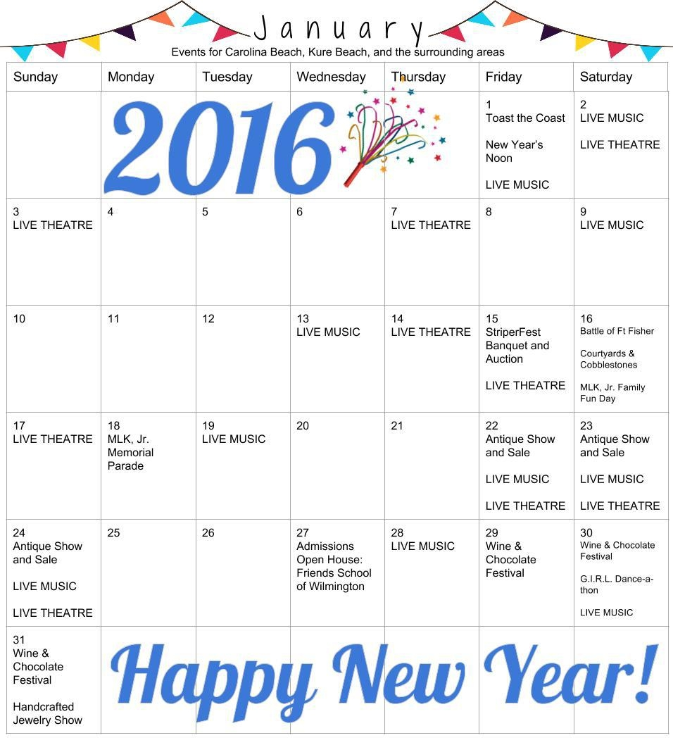 Events In January