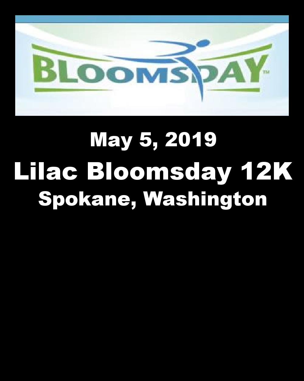 Lilac Bloomsday 12k Spokane Washington 552019 My Best Runs