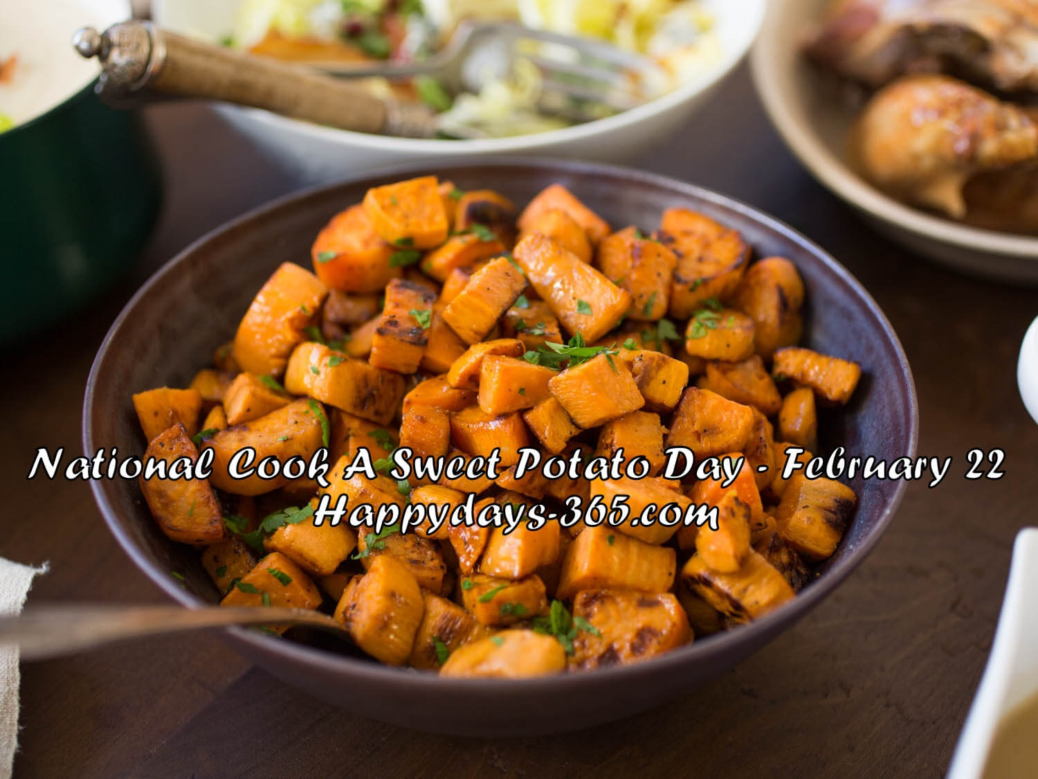 National Cook A Sweet Potato Day 2019