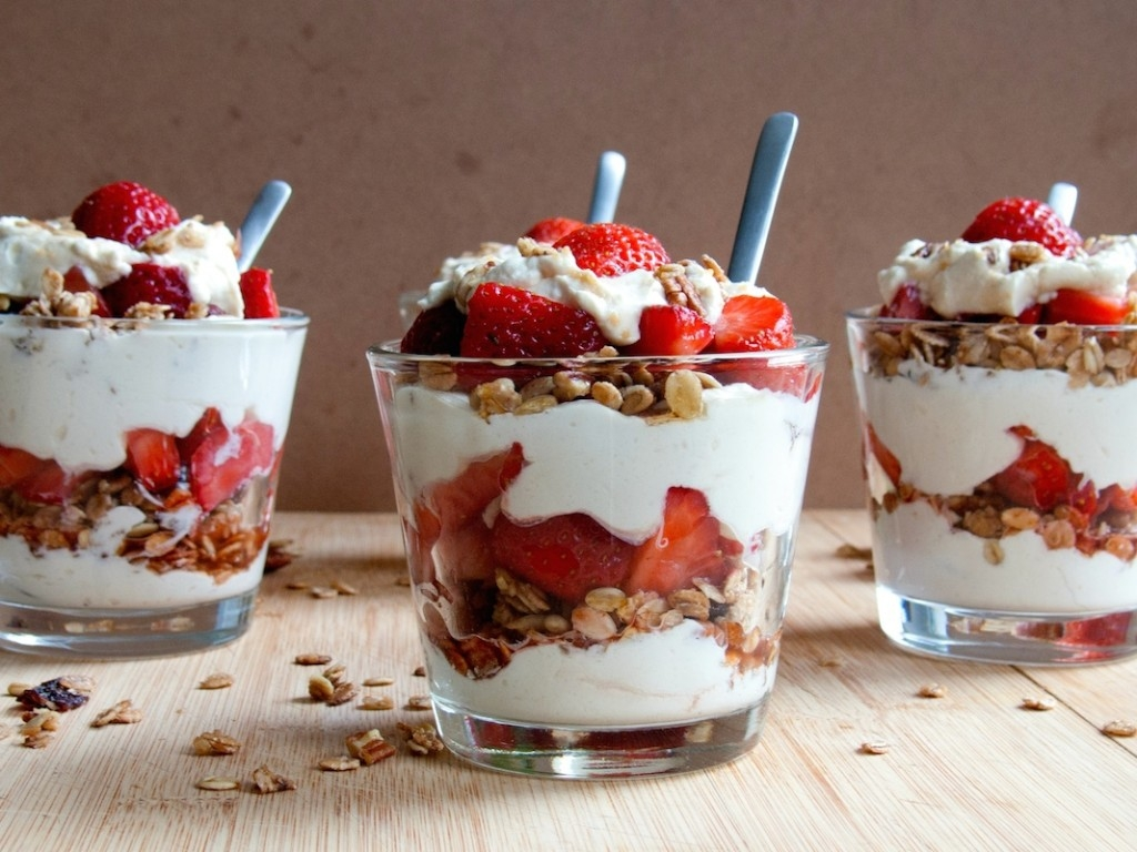 National Strawberry Parfait Day 2019