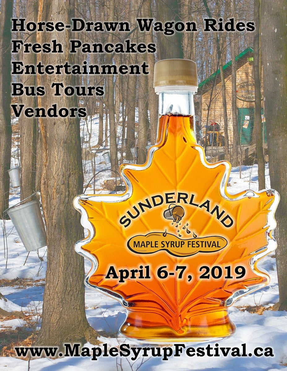 Maple Syrup Saturday 2019