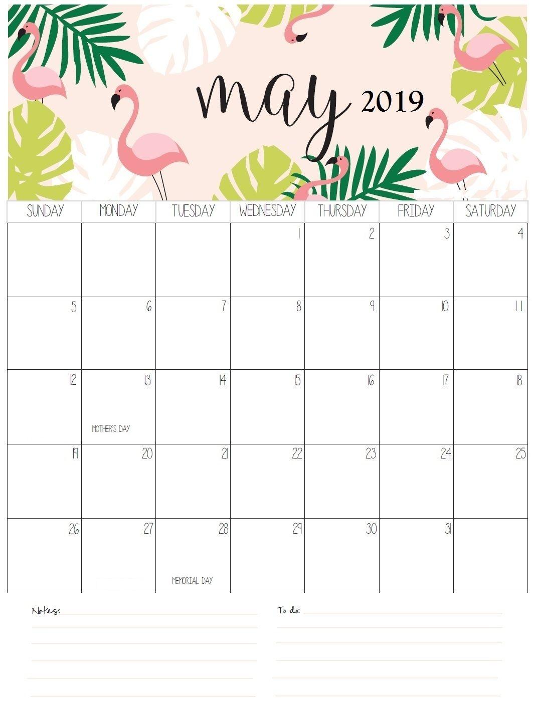 May 2019 Calendar Designs