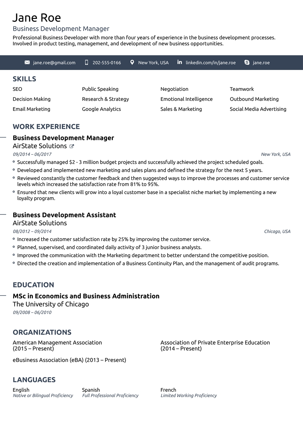 Top 10 Best Resumes Templates