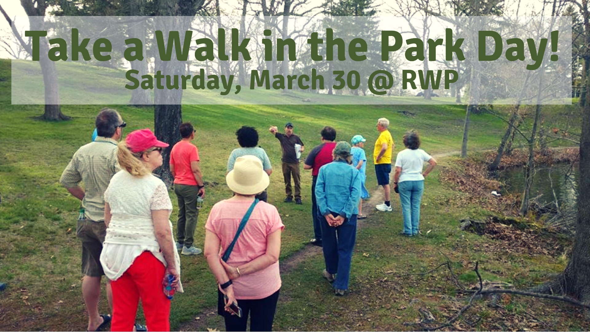 Take A Walk In The Park Day 2019