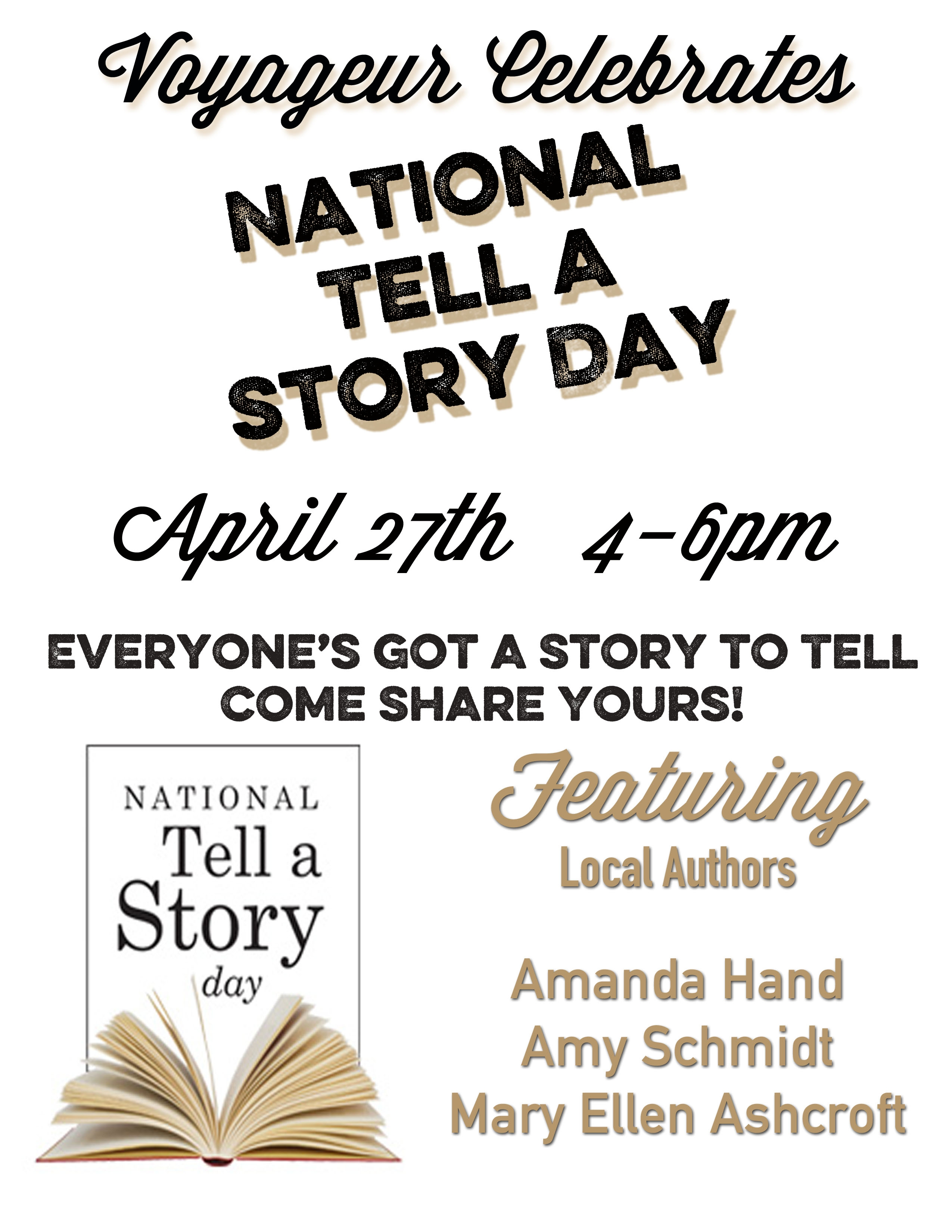 National Tell A Story Day 2019