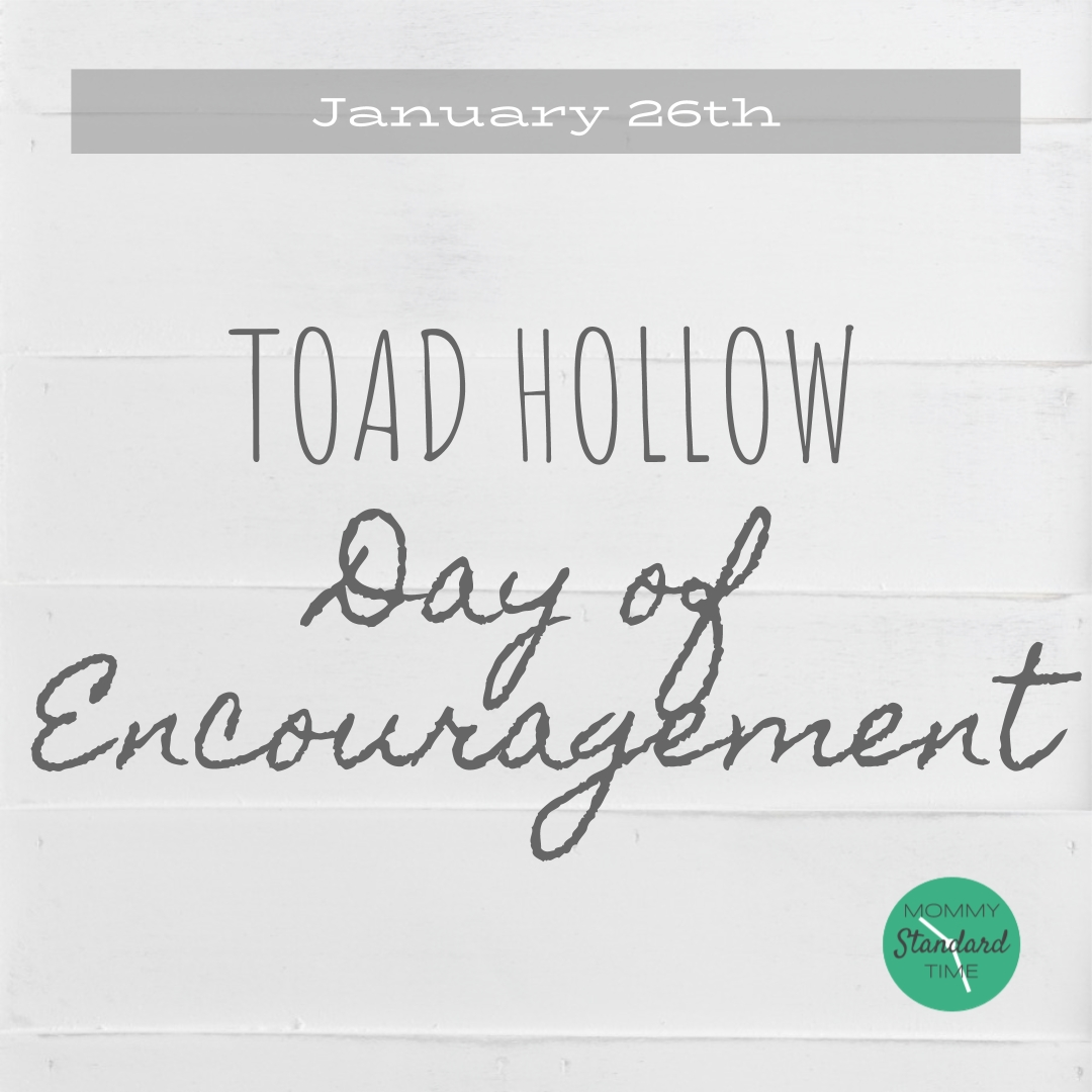 Toad Hollow Day Of Encouragement 2019