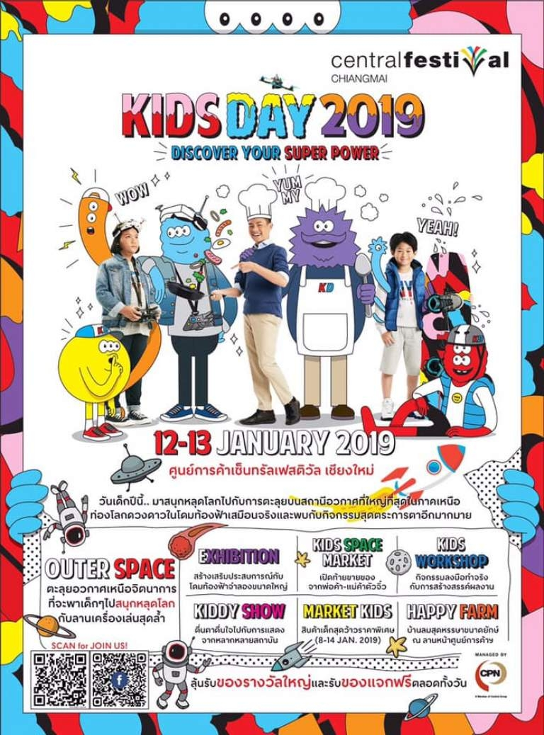 Top Places To Celebrate Childrens Day 2019 Chiang Mai Family Guide