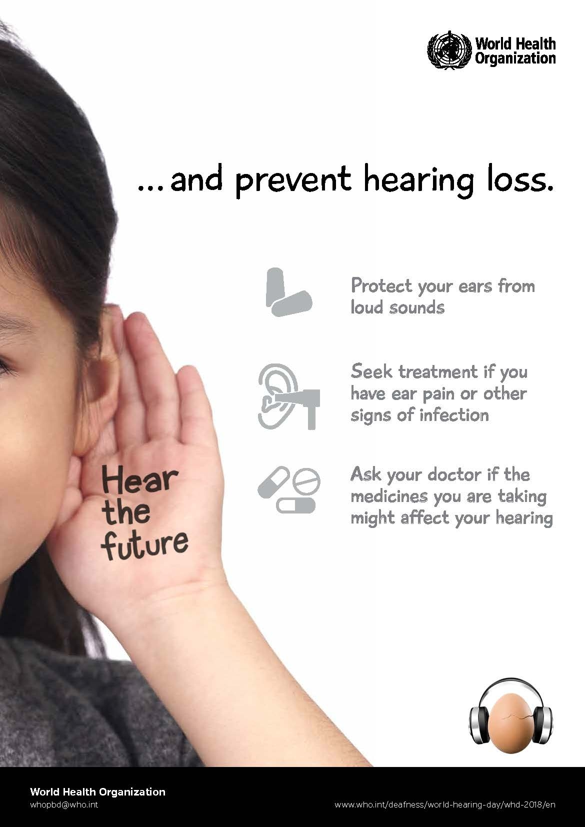 Save Your Hearing Day 2019