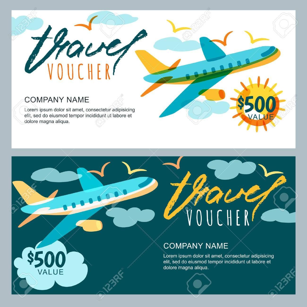 Travel Voucher Certificate Templates