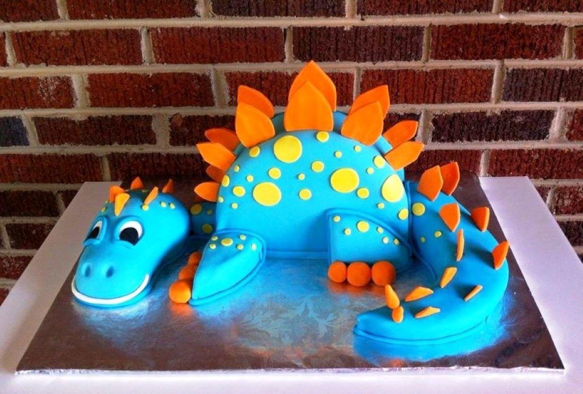 Dinosaur Cake Template