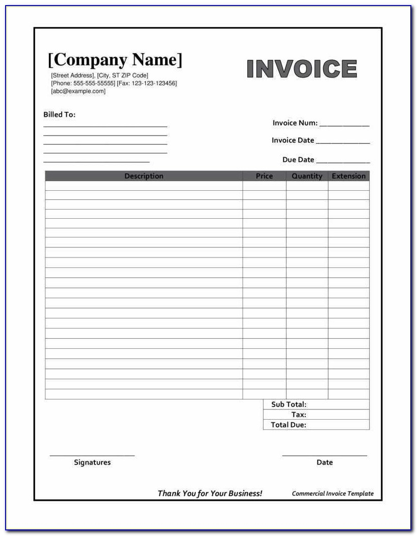 Downloadable Invoice Template Beautiful Printable Invoices Templates