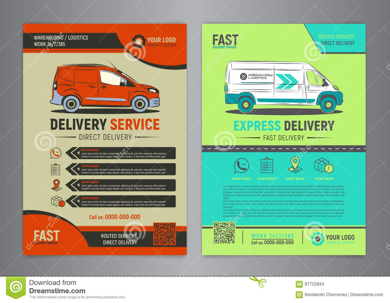 Free Transportation Flyers Templates