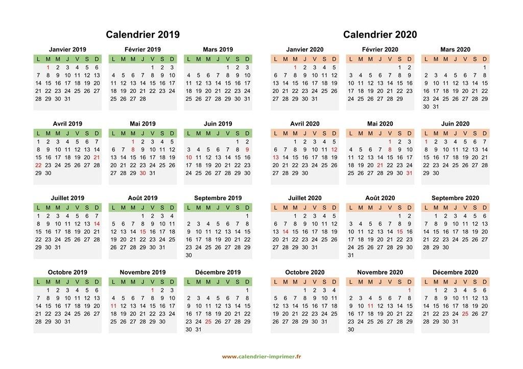 Mois De Janvier Fevrier Mars Avril 2020