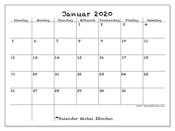 Kalender Dezember 2019 Januar Bis Marz 2020