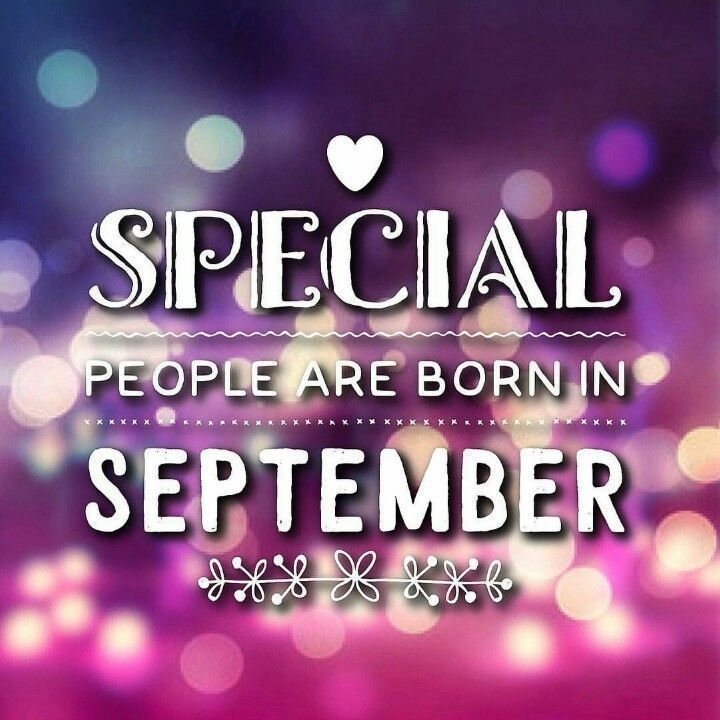 September Birthday Images Quotes