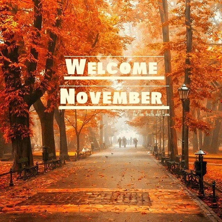 Welcome November Images Pictures