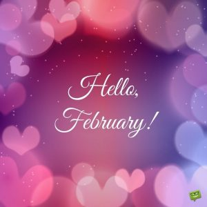 Hello February | Happy Valentine Day Quotes, Valentines Day