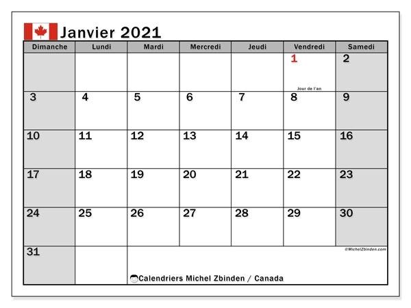 Janvier Fevrier Mars Avril 2021 Calendrier