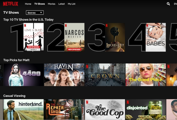 Best Netflix Shows Movies 2020