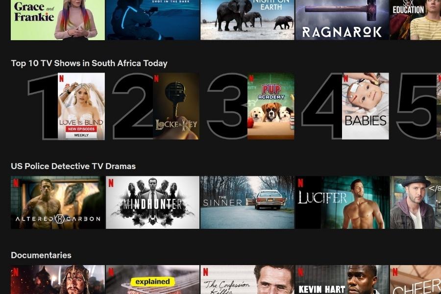 Top Netflix Movies Australia 2020