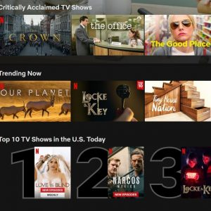 Netflix Added A Top 10 List Of Its Most-Watched Content