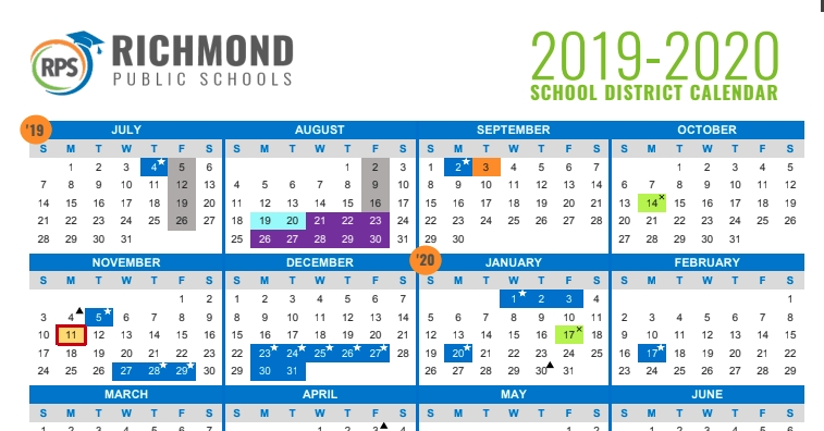 Rps Calendar 2021
