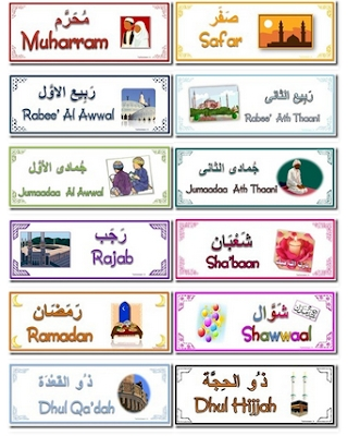 Calendar Hijri Months