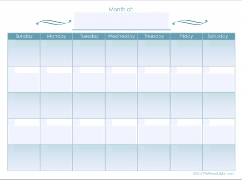 Calendar That Can Be Edited