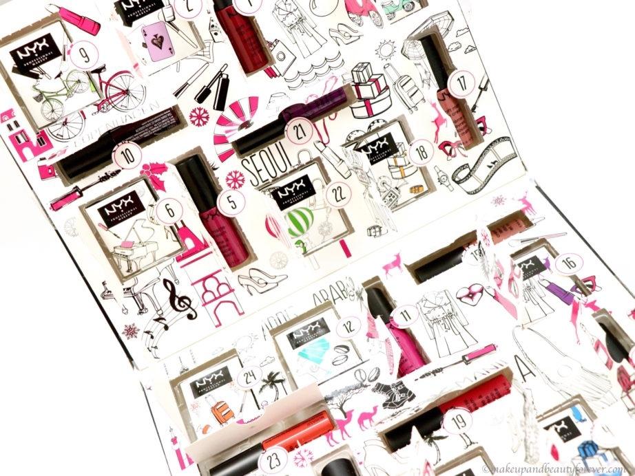 Nyx Wanderlust Advent Calendar Review – Makeup And Beauty