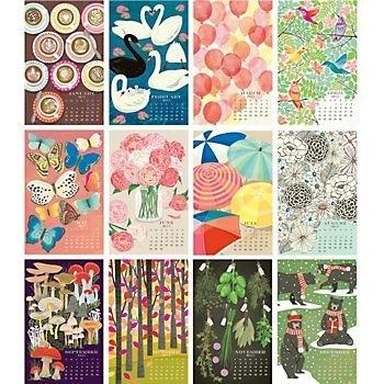 Paper Source Wall Calendar