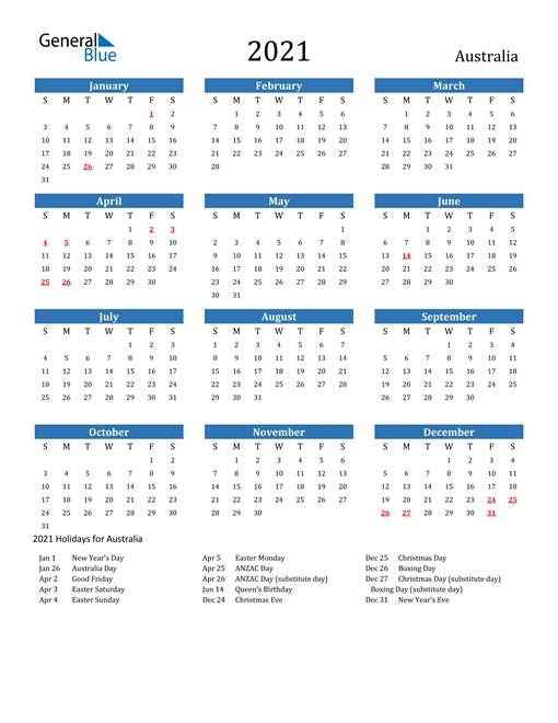 Edit Calendar 2021