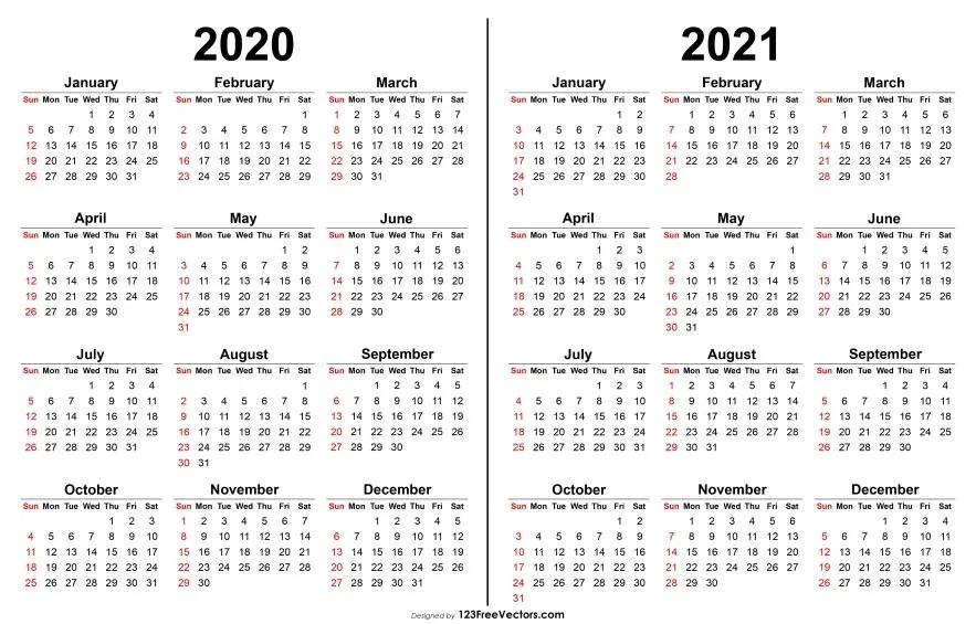 2020 2021 Calendar   Календарь, Дневник