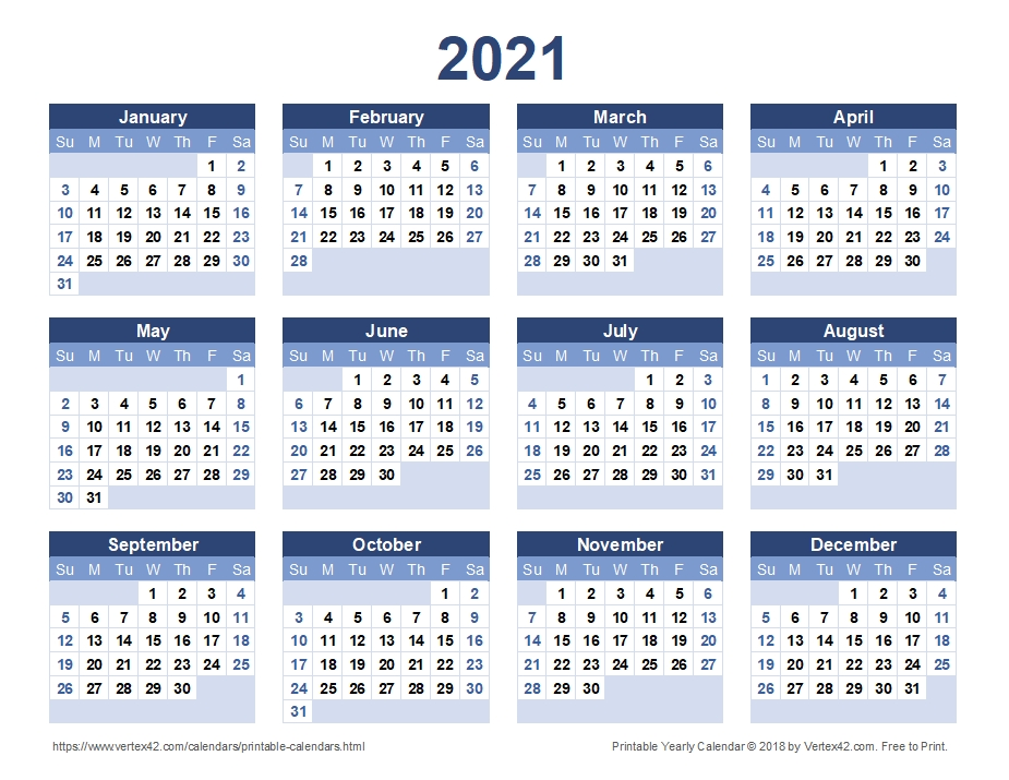 2021 Calendar Malaysia