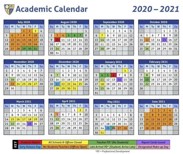 2021 2020 Cms Holiday Calendar 2