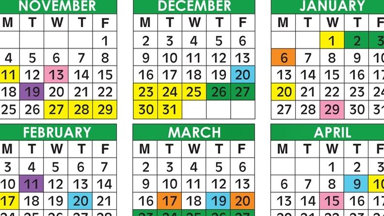 2021 2020 School Calendar Broward