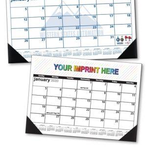 Custom Desk Pad Calendar (17X12, 12-Sheet)   Valuecalendars