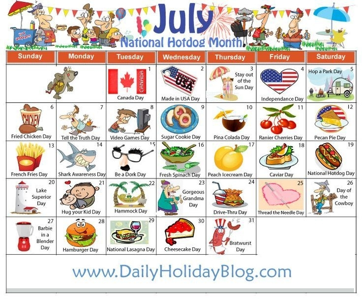 Crazy Holiday Calendar
