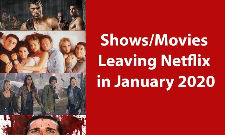 Netflix Movies Leaving In January 2020