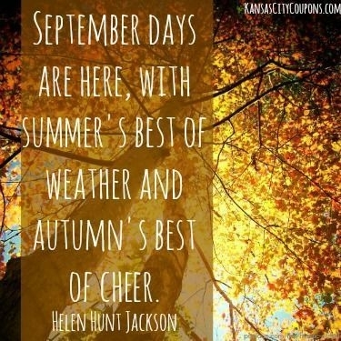 September Weather Quotes