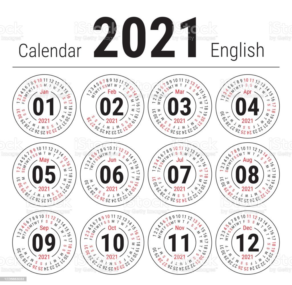 Calendar July 2021 in English